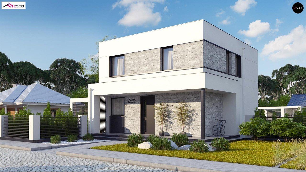 Проект будинку Zx92 - 1