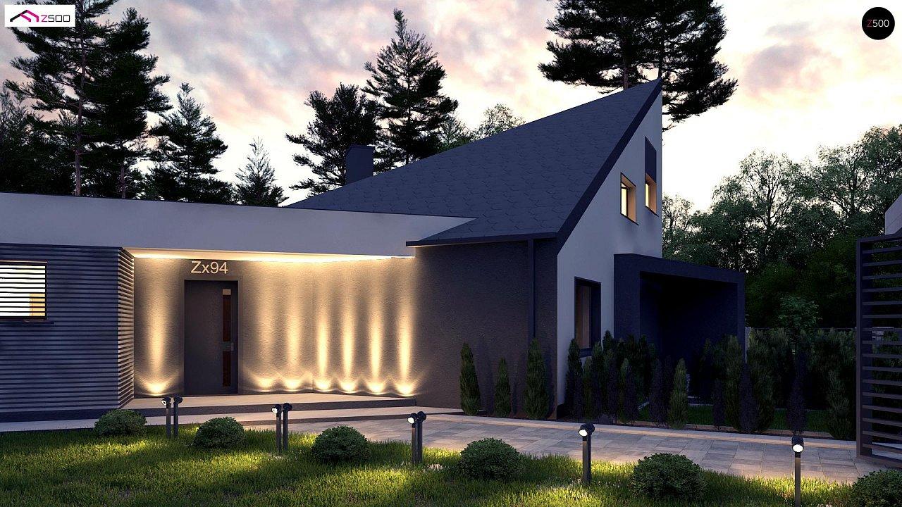Проект будинку Zx94 - 1