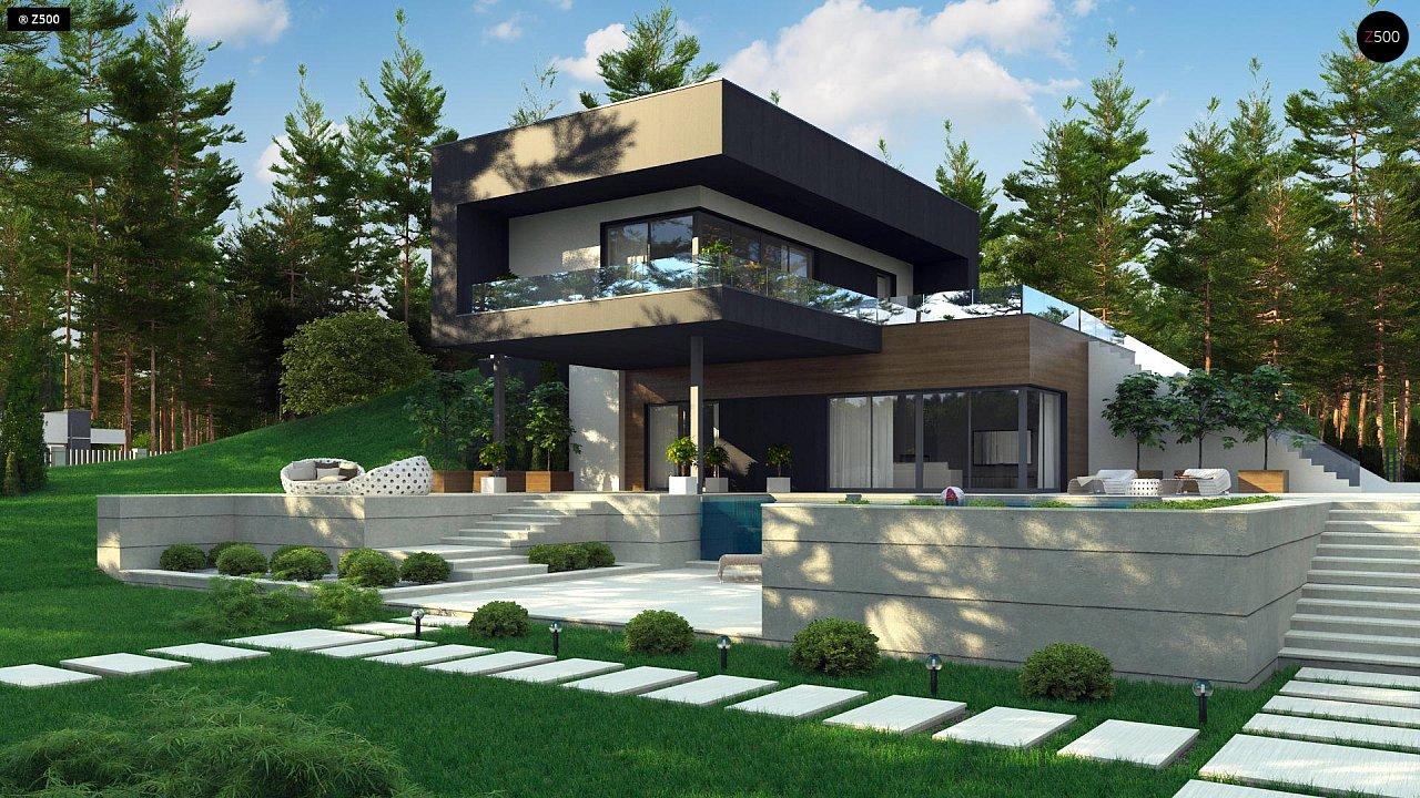 Проект будинку Zx97 - 1