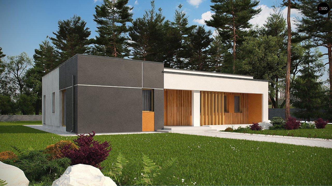 Проект будинку Zx102 bG - 1
