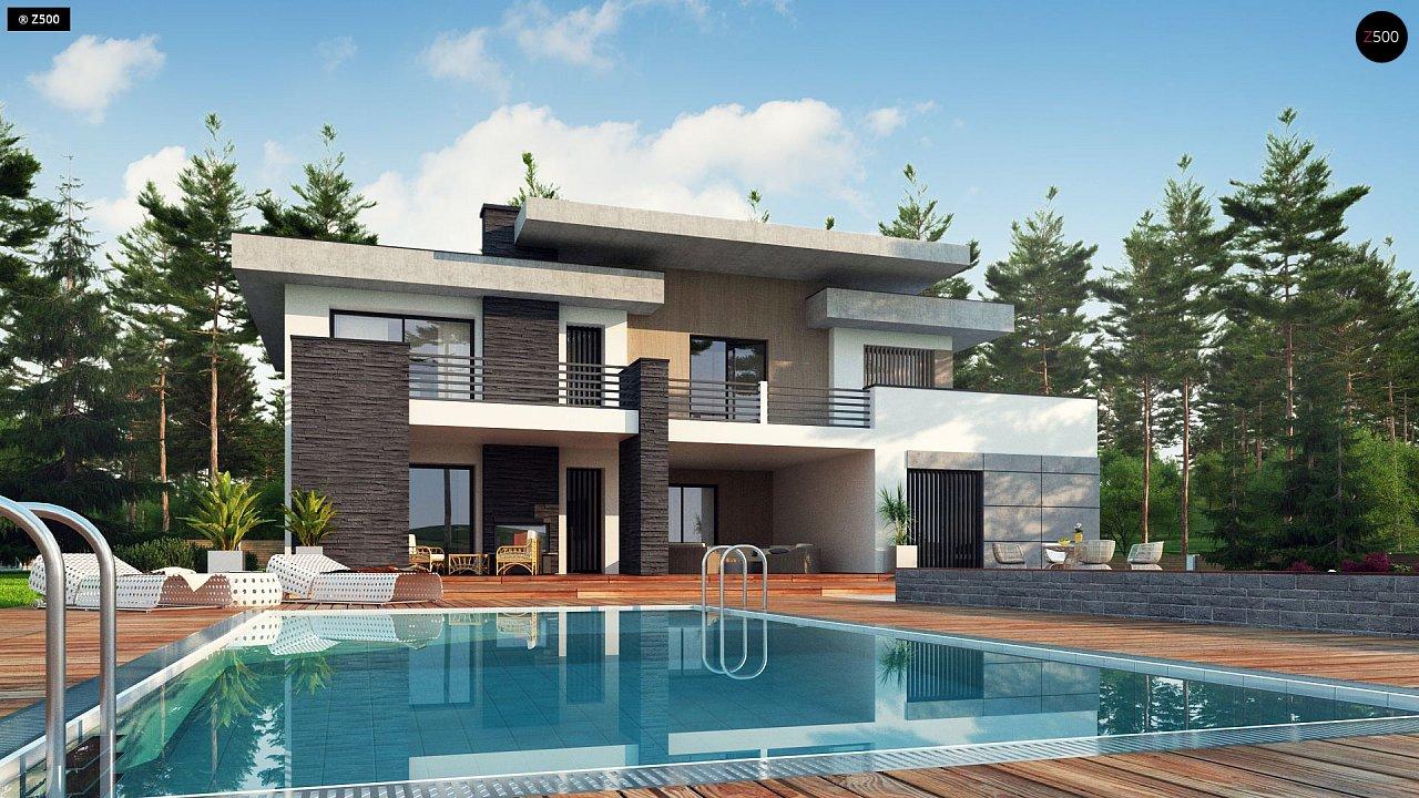 Проект будинку Zx107 - 1