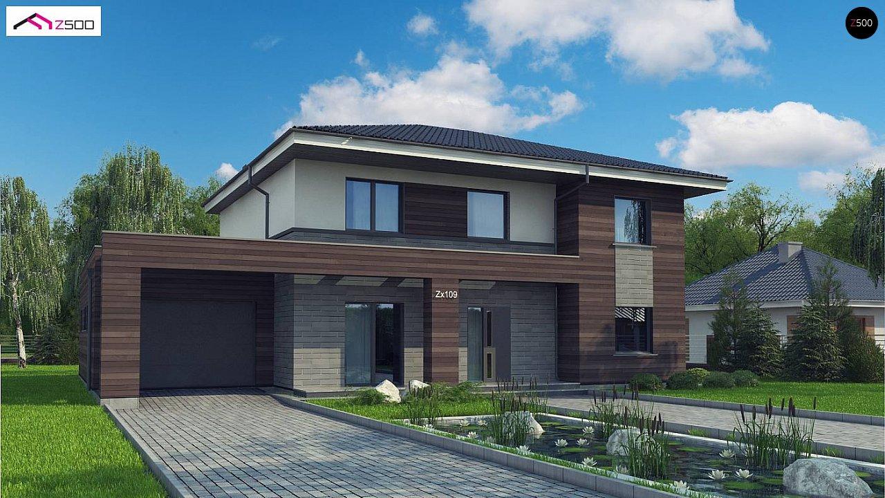 Проект будинку Zx109 v1 - 1