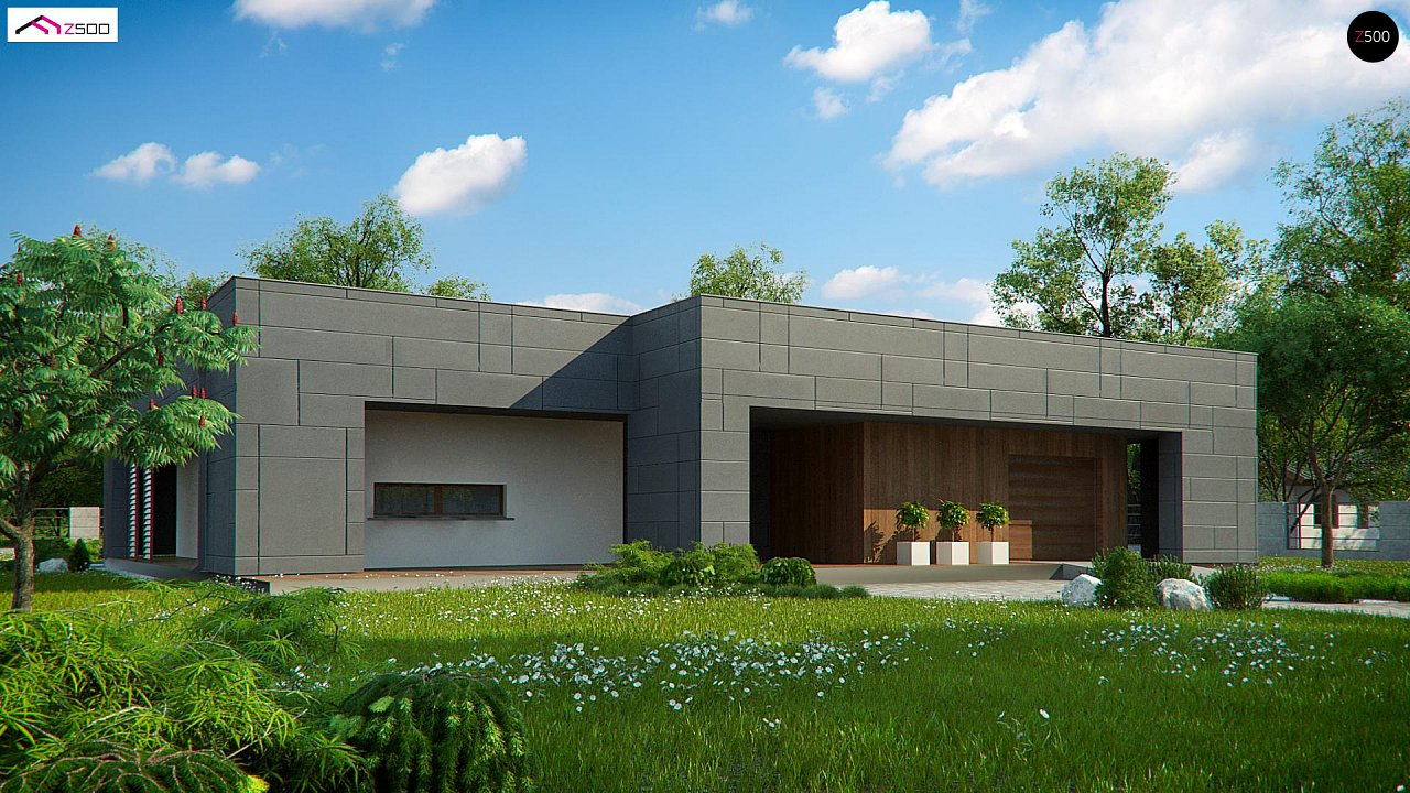 Проект будинку Zx118 - 1