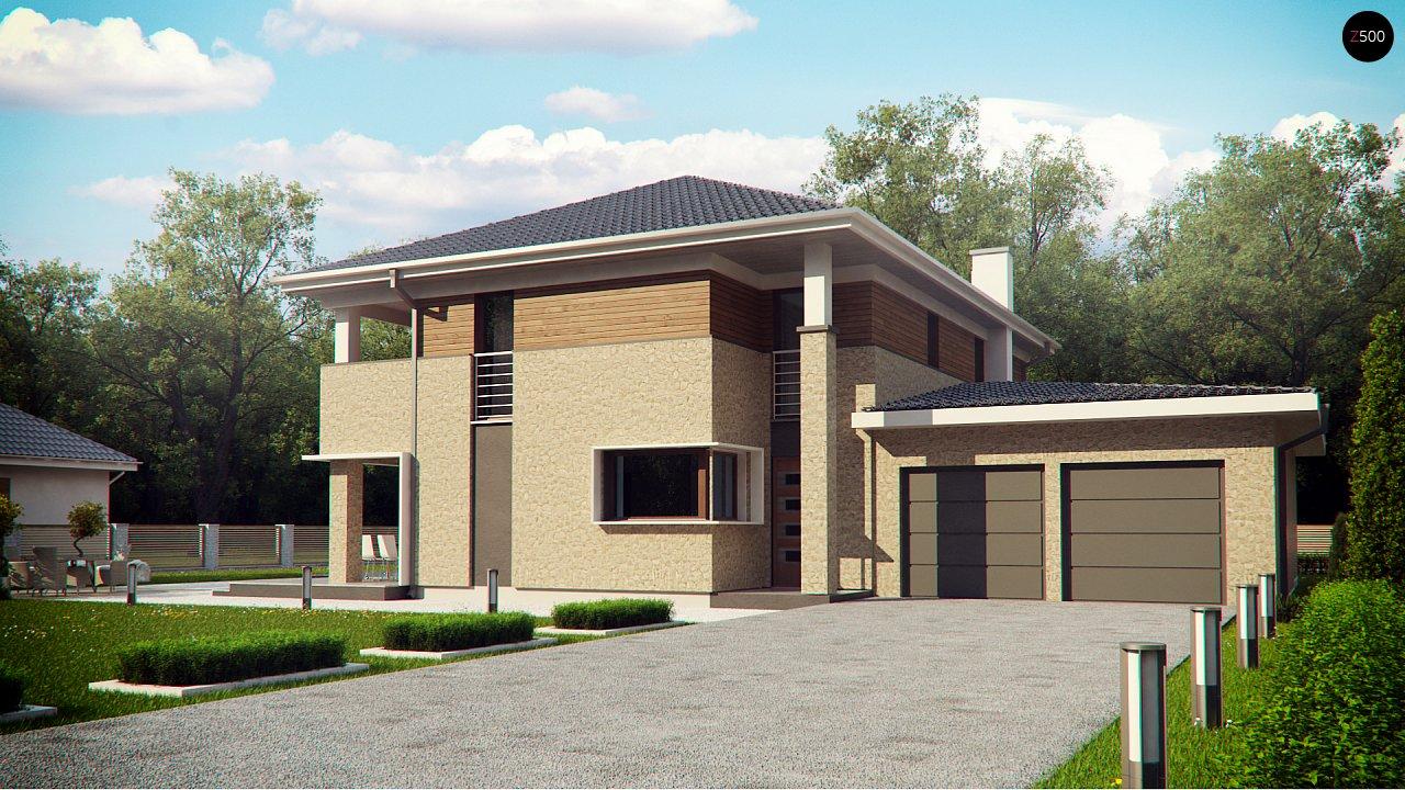 Проект будинку Zx122 - 1