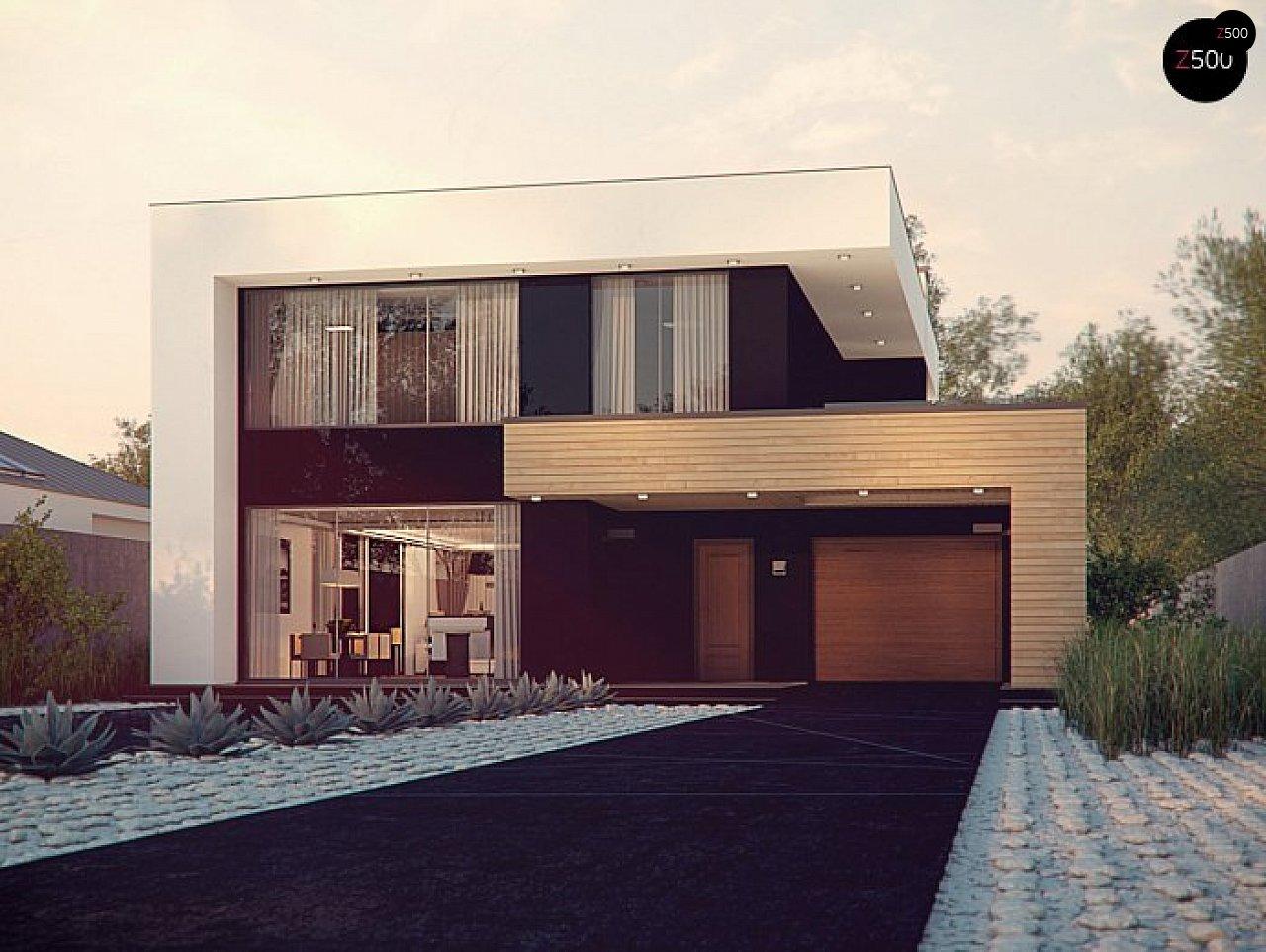 Проект будинку Zx123 P - 1