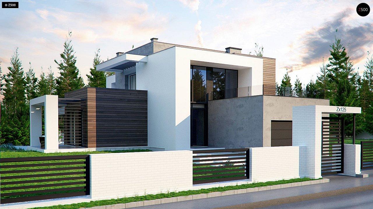Проект будинку Zx125 - 1