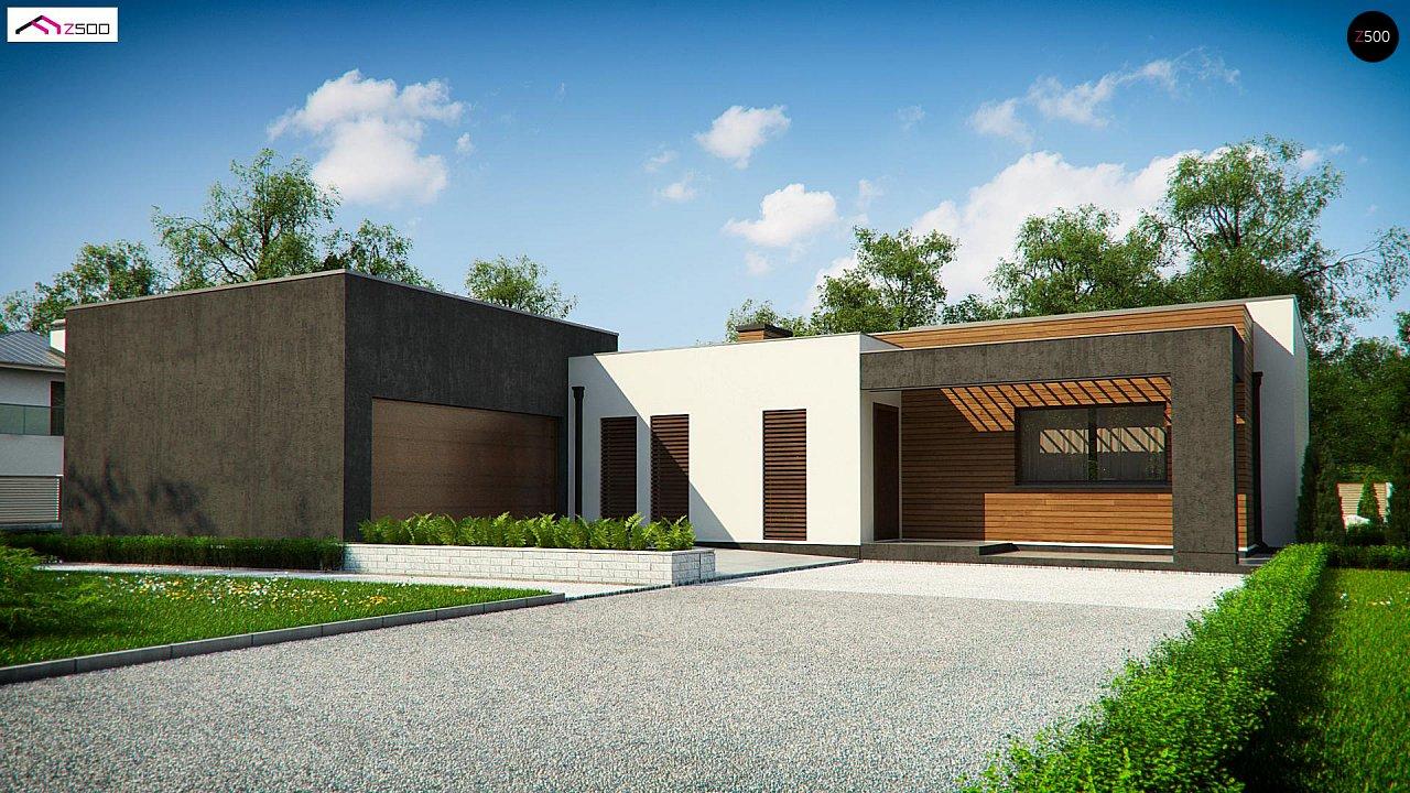 Проект будинку Zx128 - 1