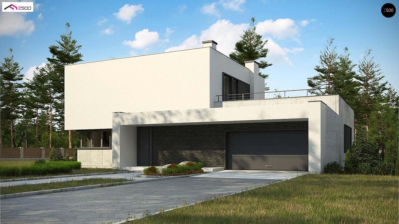 Проект будинку Zx130 - 1
