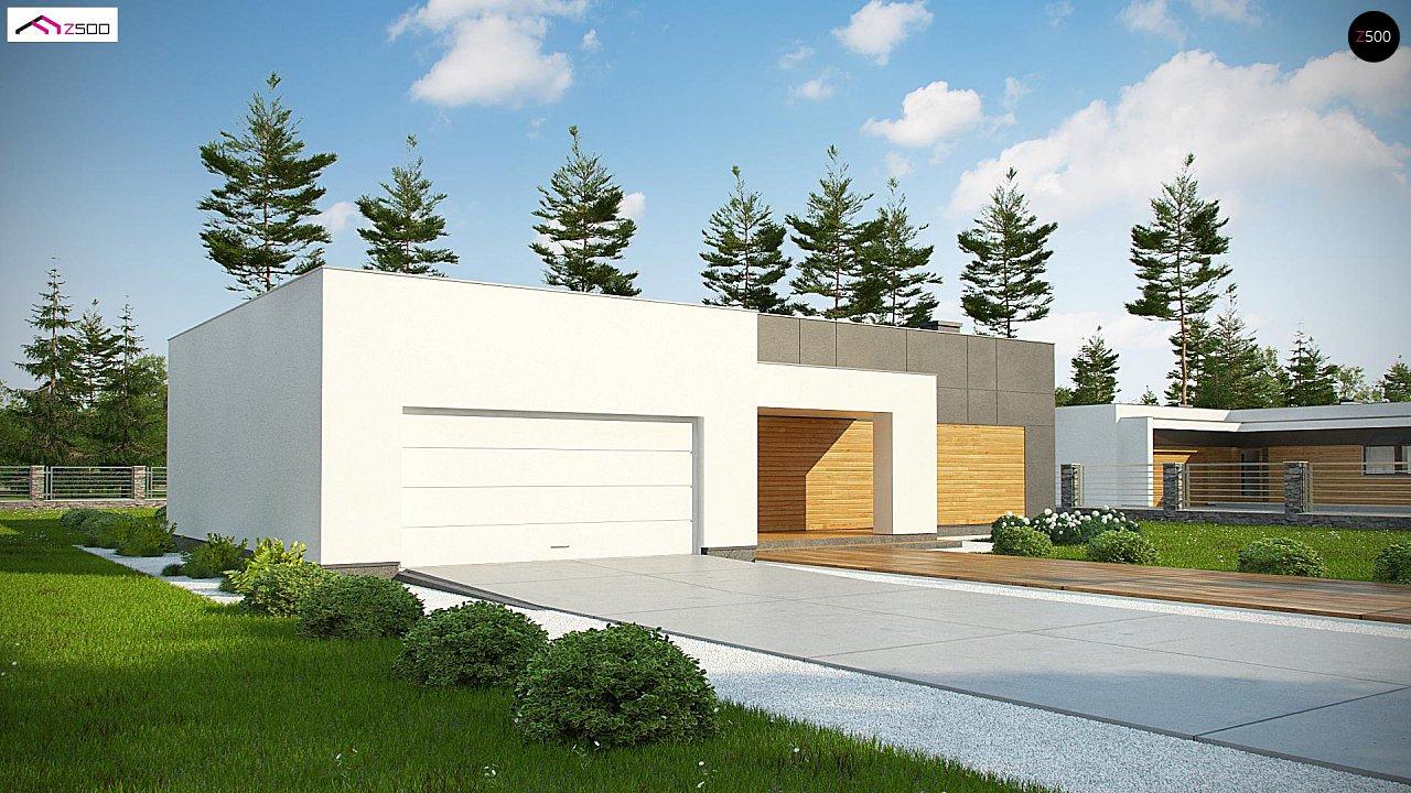 Проект будинку Zx133 - 1
