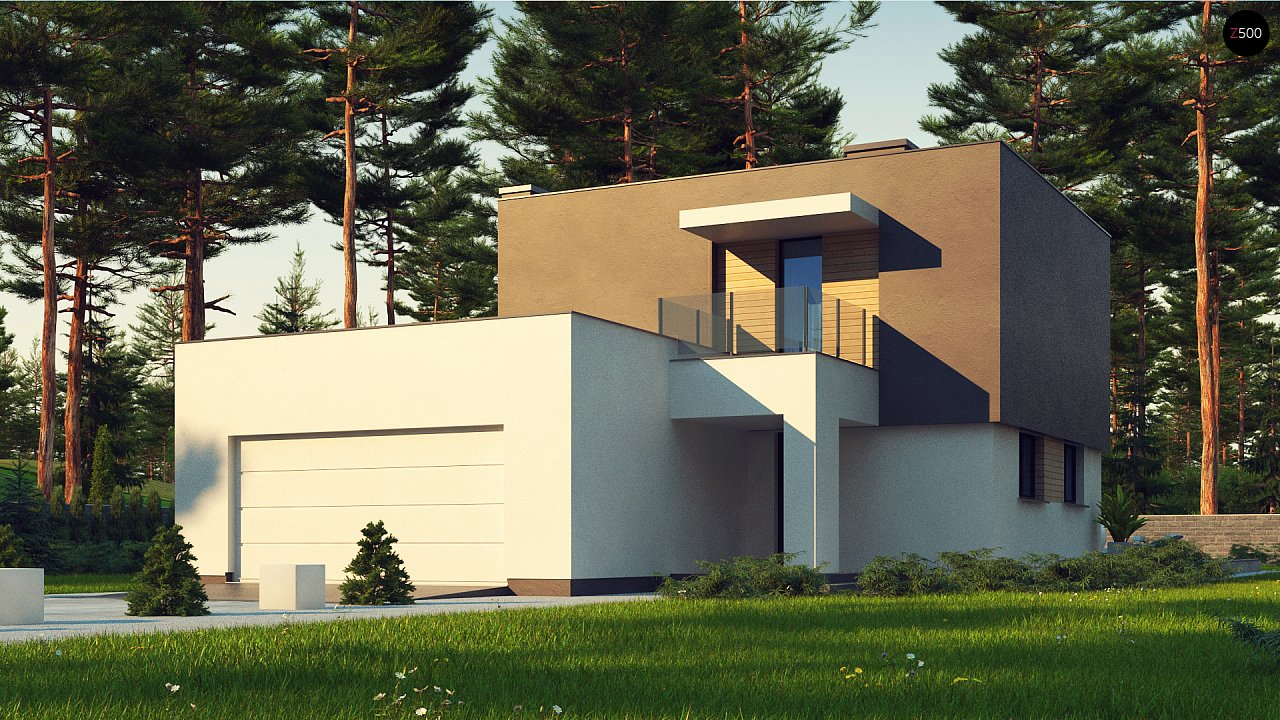 Проект будинку Zx134 - 1