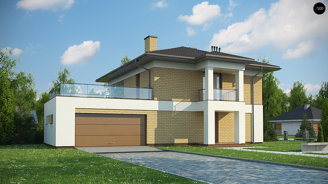 Проект будинку Zx136 - 1