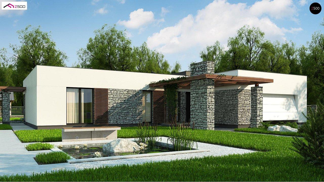 Проект будинку Zx137 - 1
