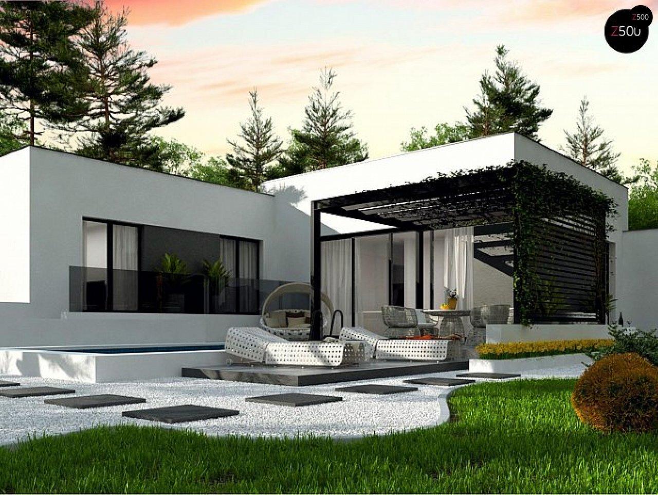 Проект будинку Zx141 S - 1