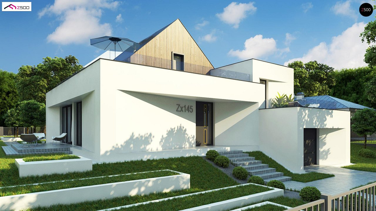 Проект будинку Zx145 - 1