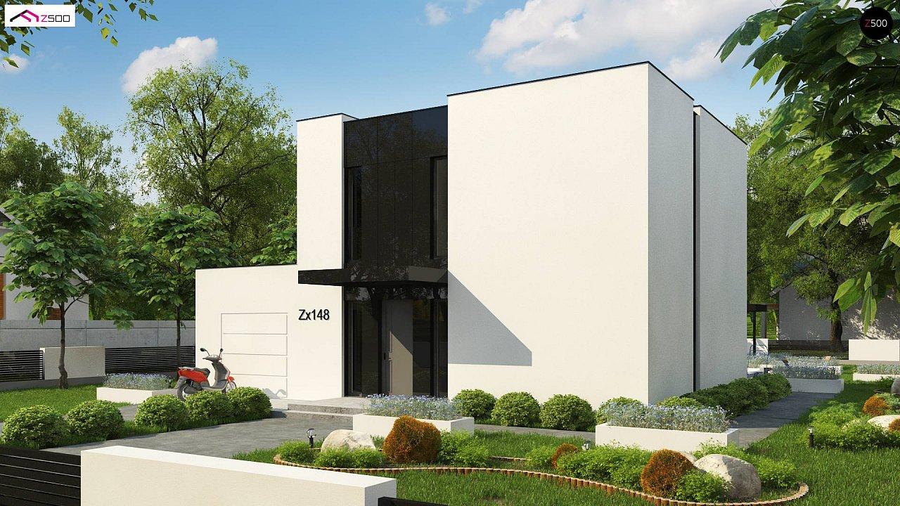 Проект будинку Zx148 - 1