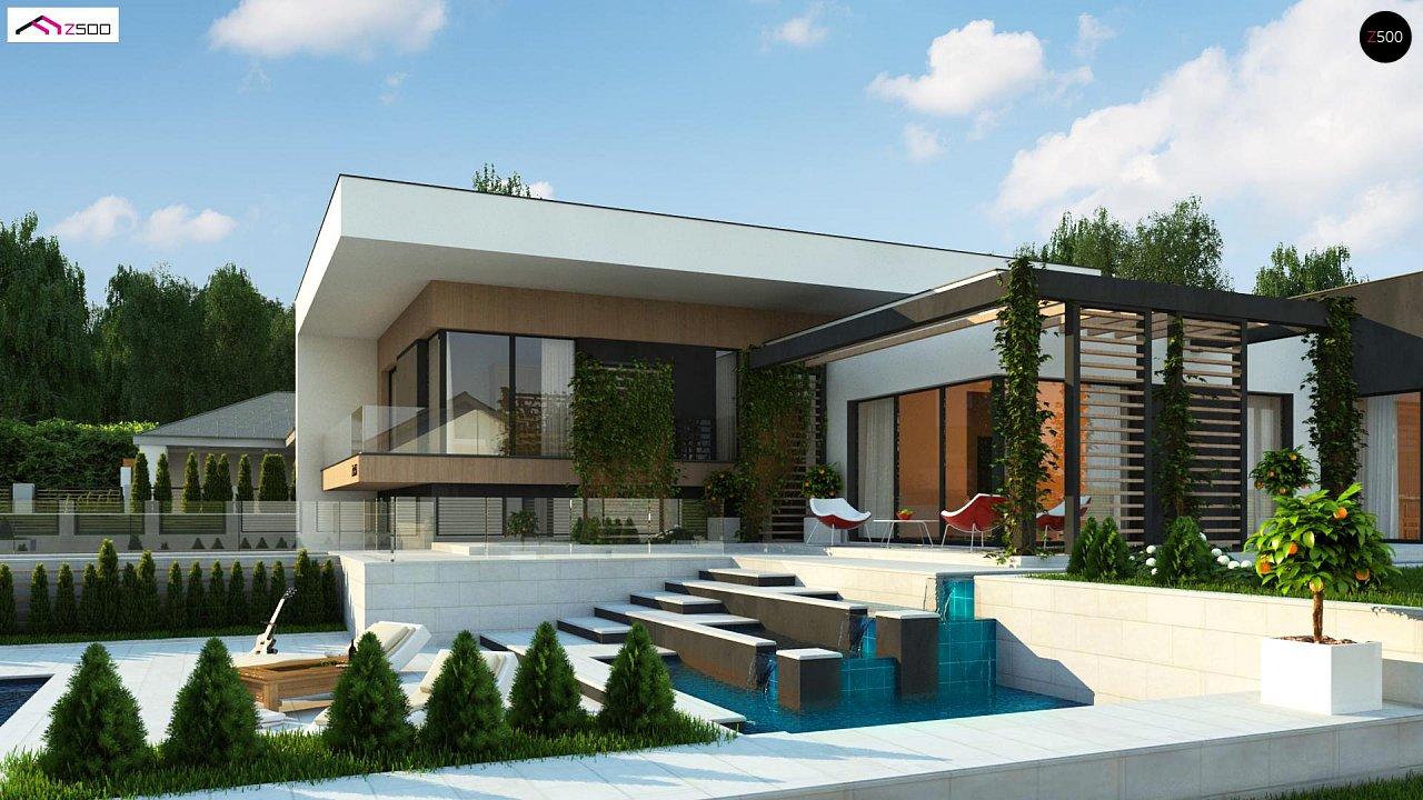 Проект будинку Zx151 - 1