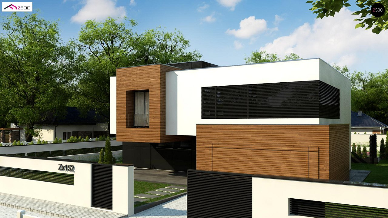 Проект будинку Zx152 - 1