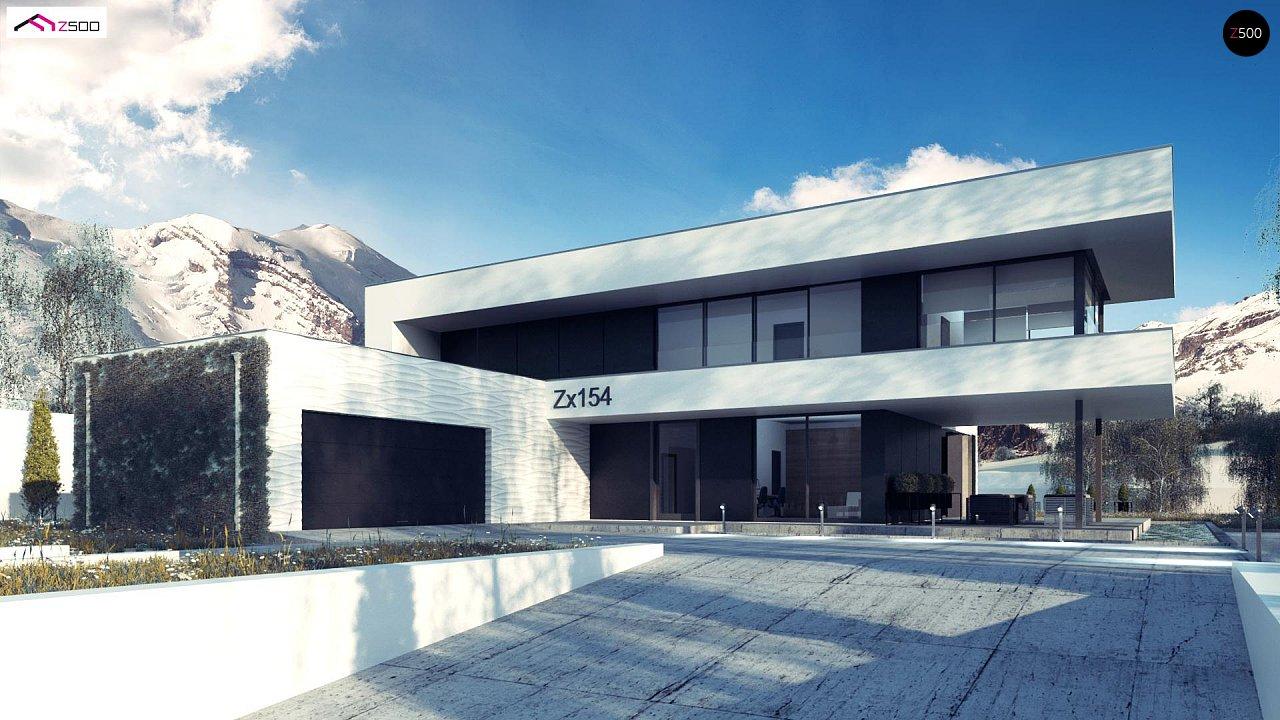 Проект будинку Zx154 - 1
