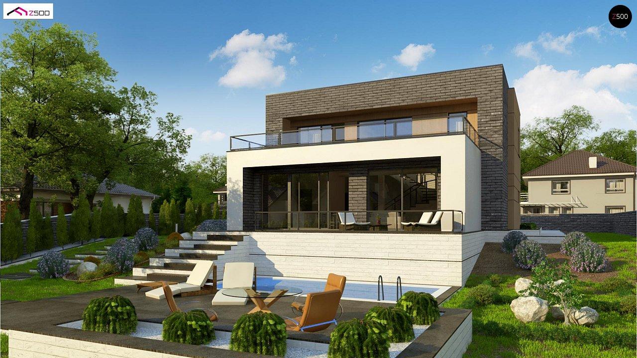 Проект будинку Zx155 - 1