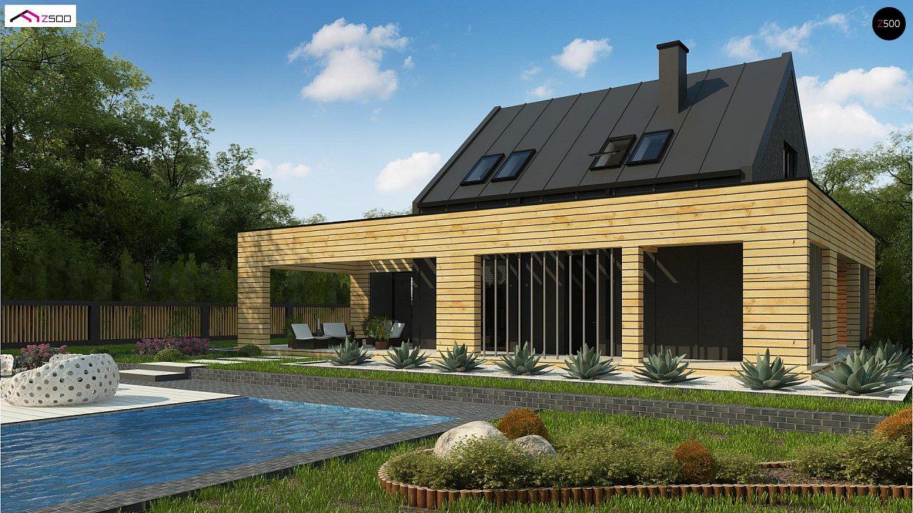 Проект будинку Zx156 - 1