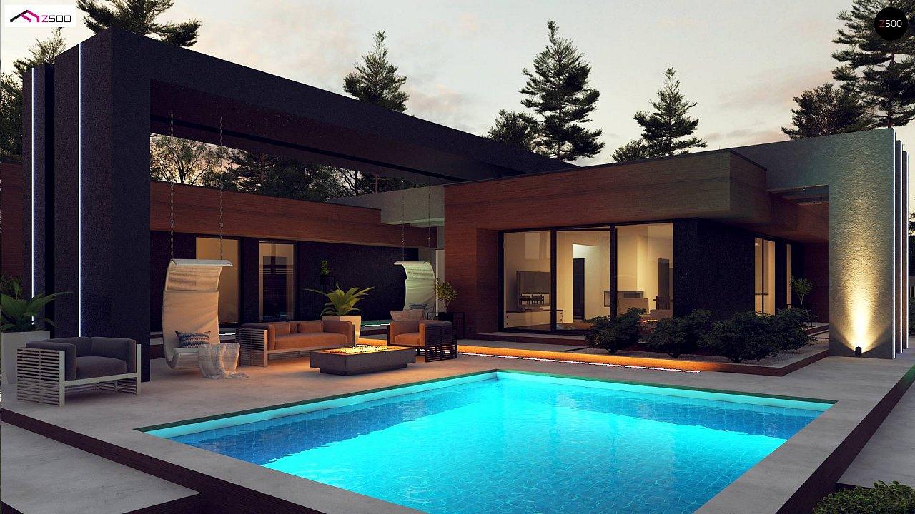 Проект будинку Zx158 - 1