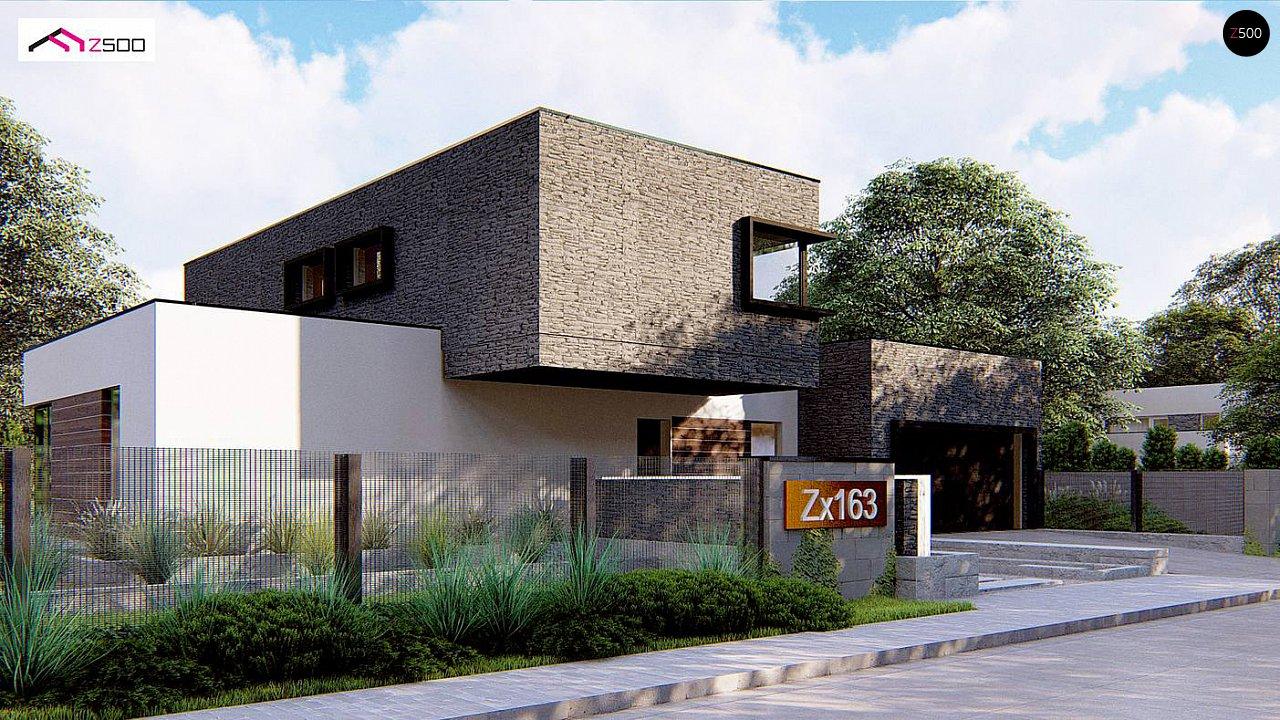 Проект будинку Zx163 - 1
