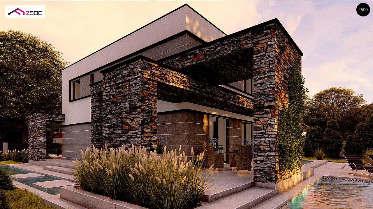 Проект будинку Zx164 - 1