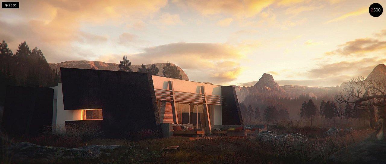 Проект будинку Zx180 - 1