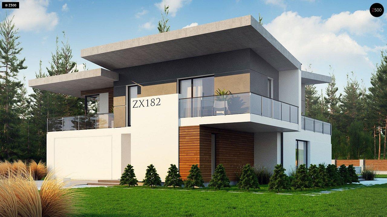 Проект будинку Zx182 - 1