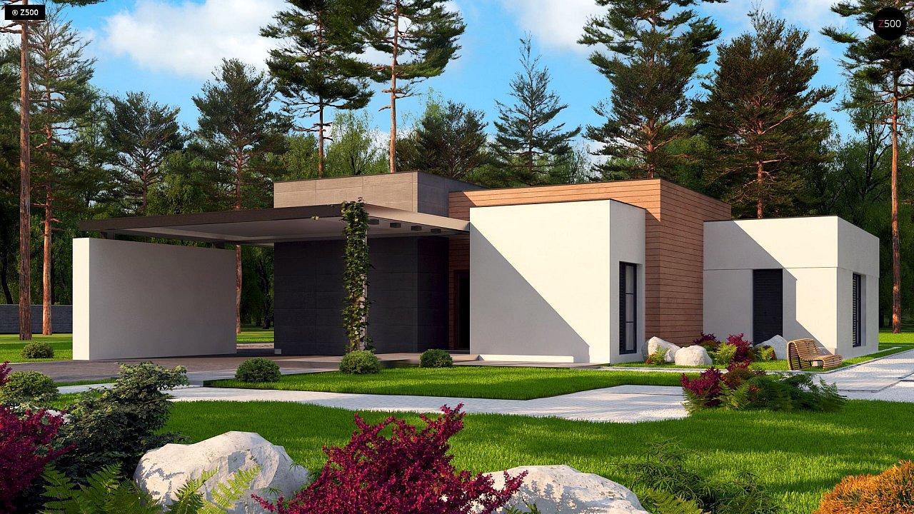 Проект дома Zx183 - 1