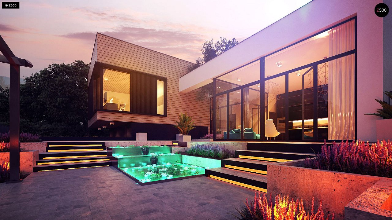 Проект будинку Zx190 - 1