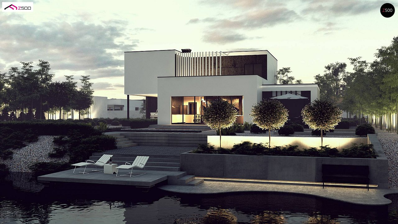 Проект будинку Zx204 - 1