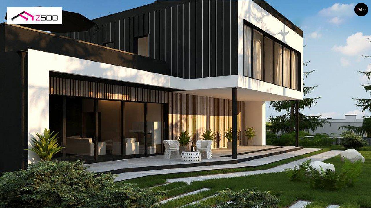 Проект будинку Zx205 - 1