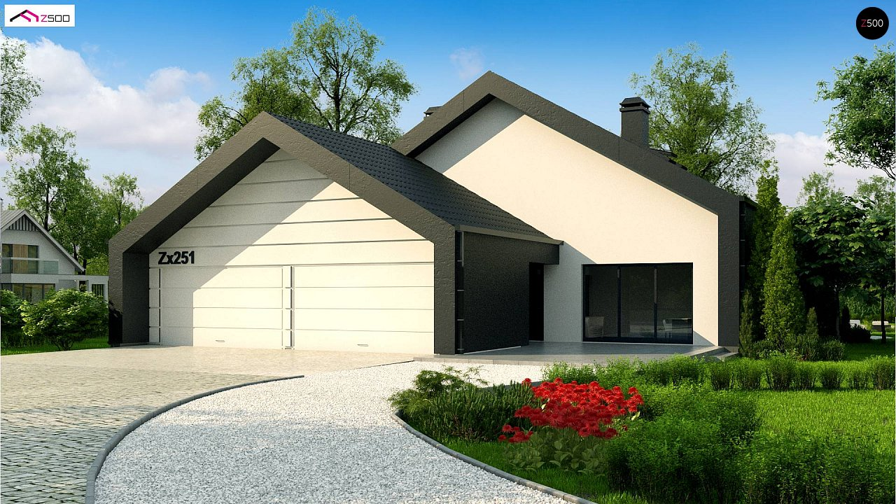 Проект будинку Zx251 - 1