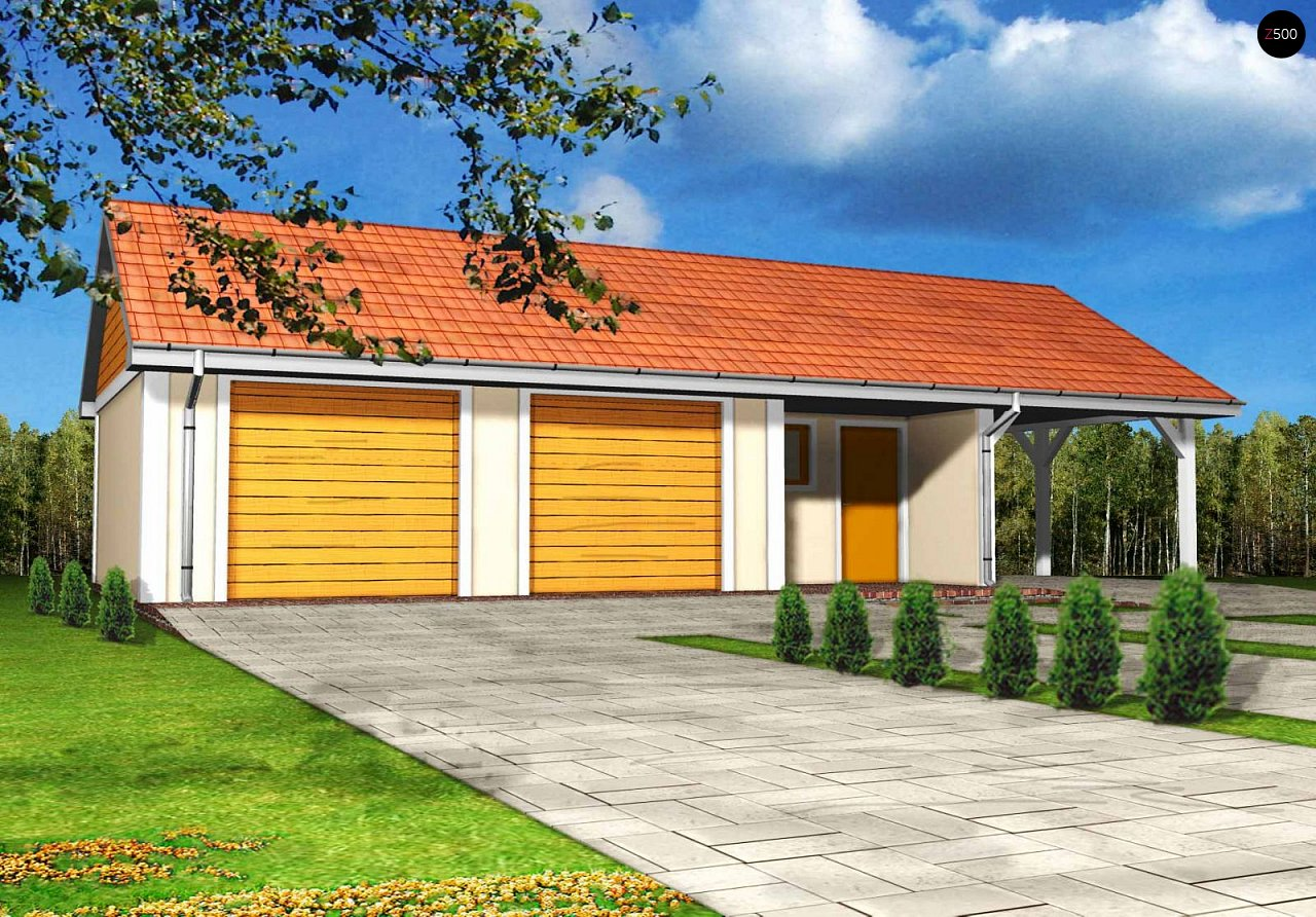 Проект будинку Zg4 - 1