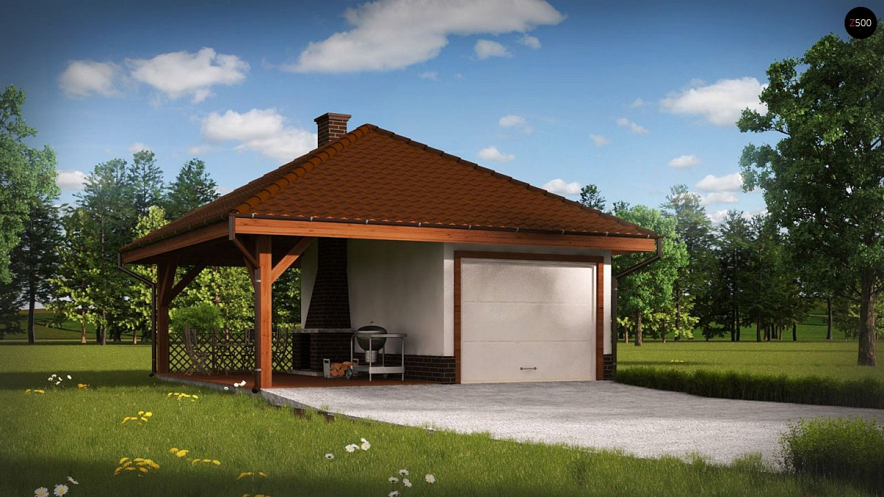 Проект будинку Zg14 - 1