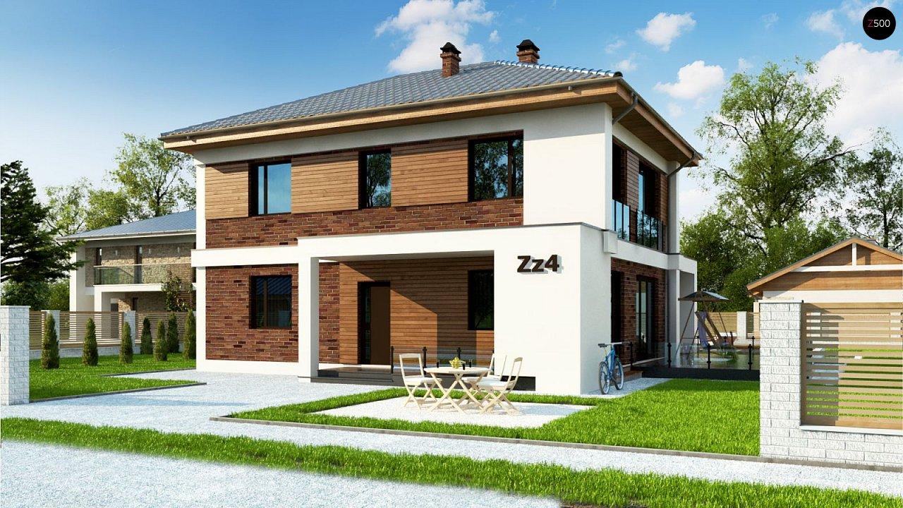 Проект будинку Zz4 - 1