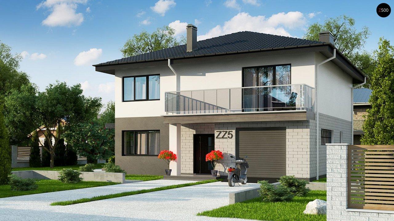Проект будинку Zz5 - 1