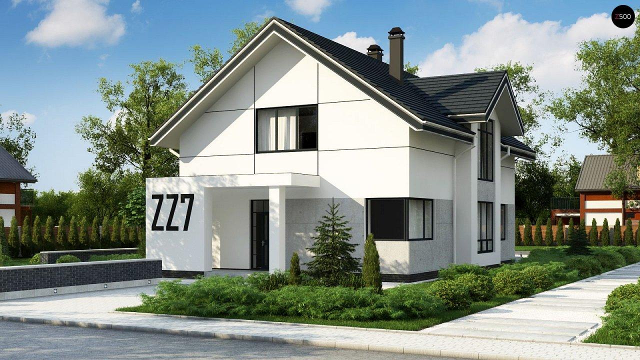 Проект будинку Zz7 - 1