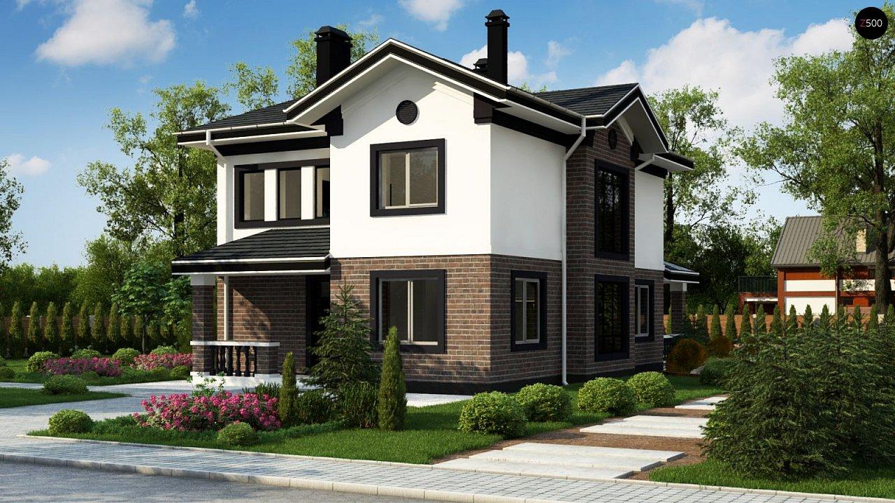 Проект будинку Zz8 - 1
