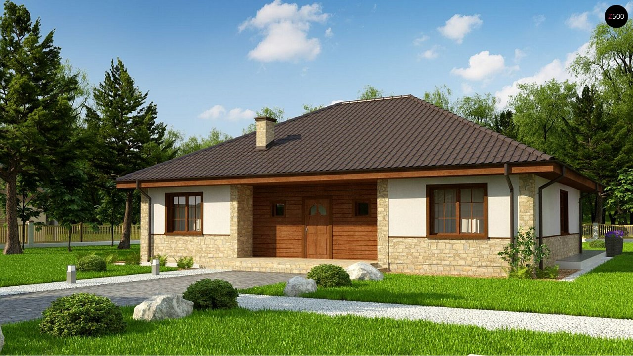 Проект будинку Zz10 - 1