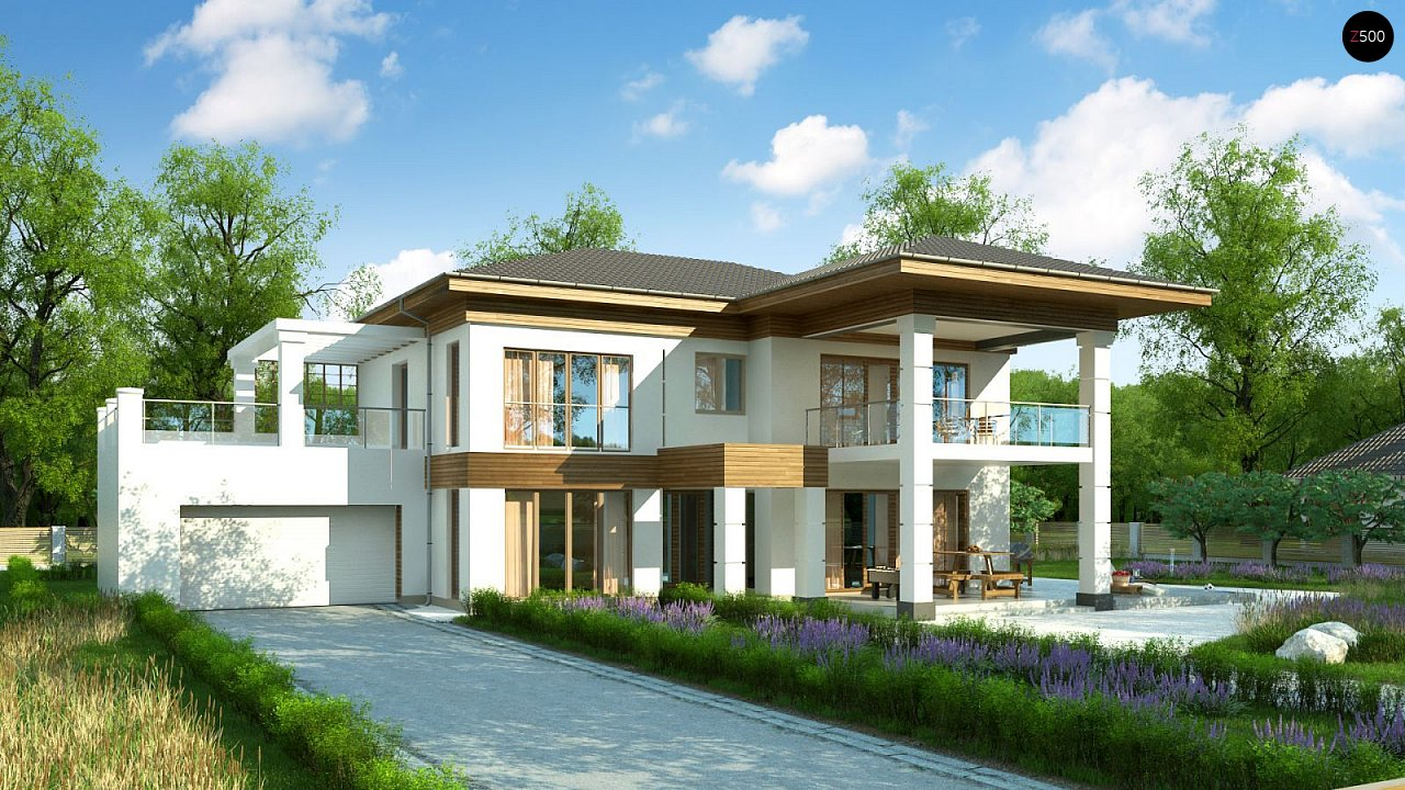 Проект будинку Zz201 - 1