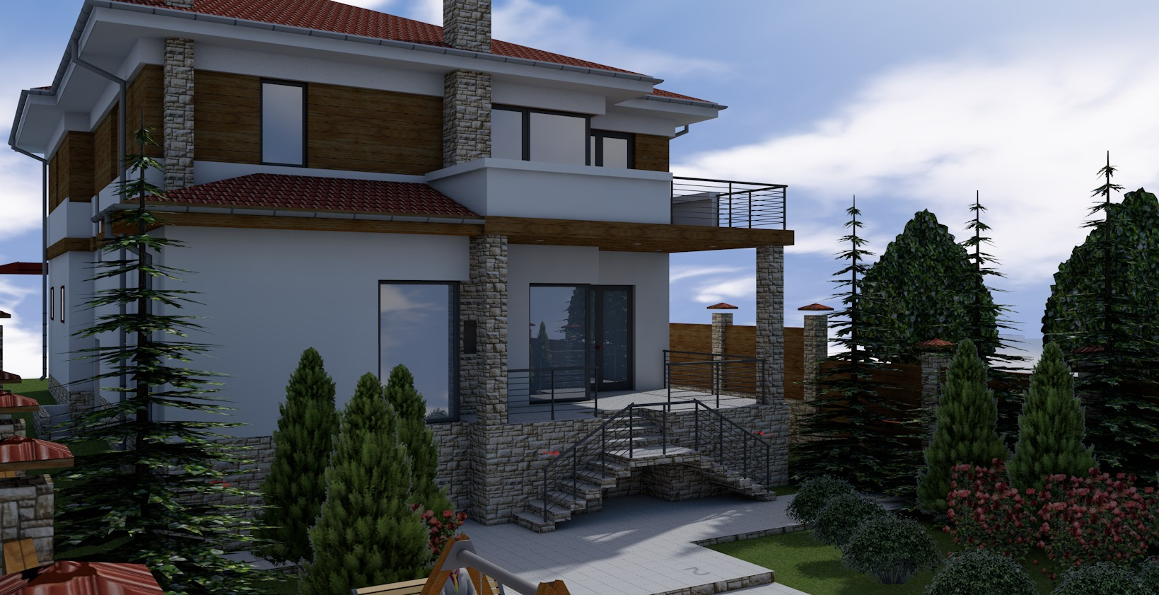 Проект будинку Db 3 - 1