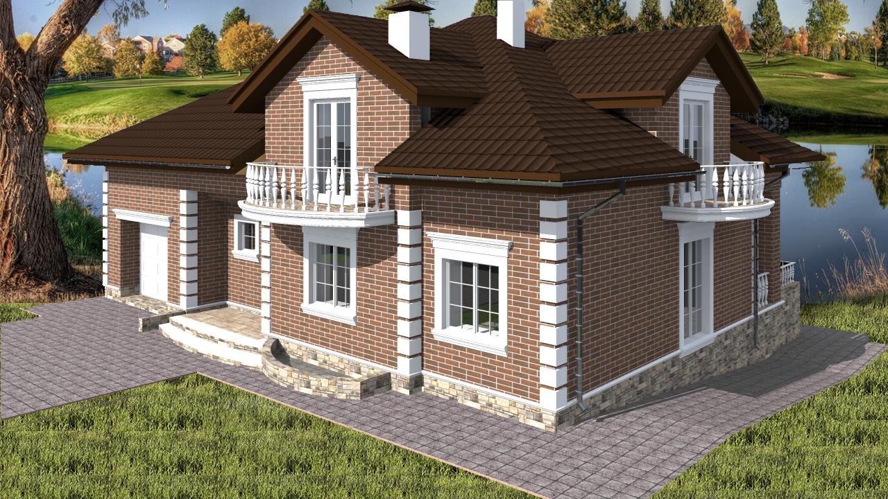 Проект будинку Db 4 - 1