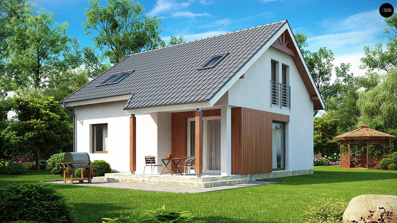 Проект будинку Z75 - 1