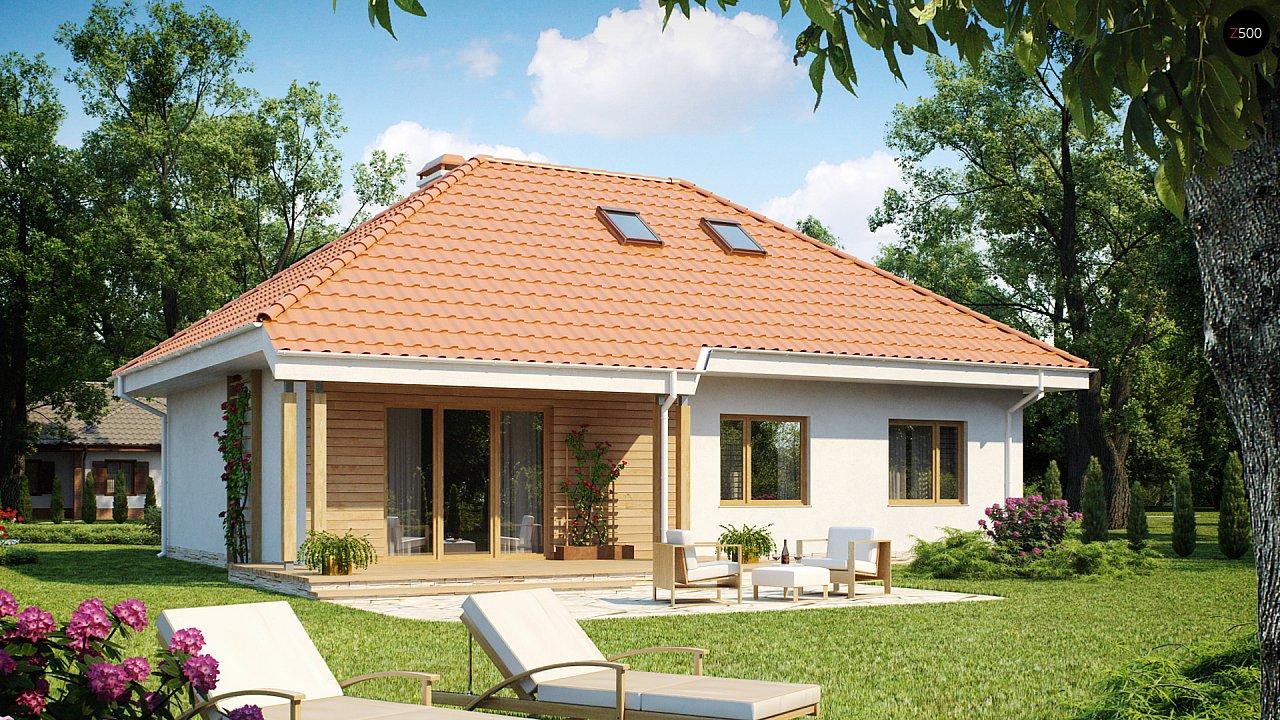 Проект будинку Z169 - 1
