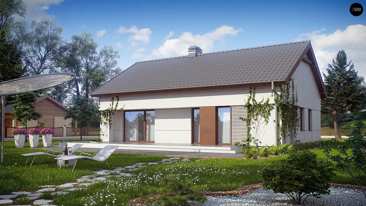 Проект будинку Z191 - 1