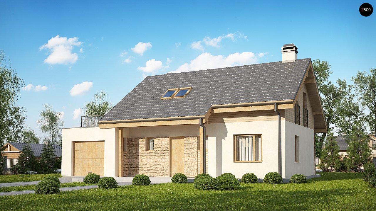Проект будинку Z210 GLt - 1