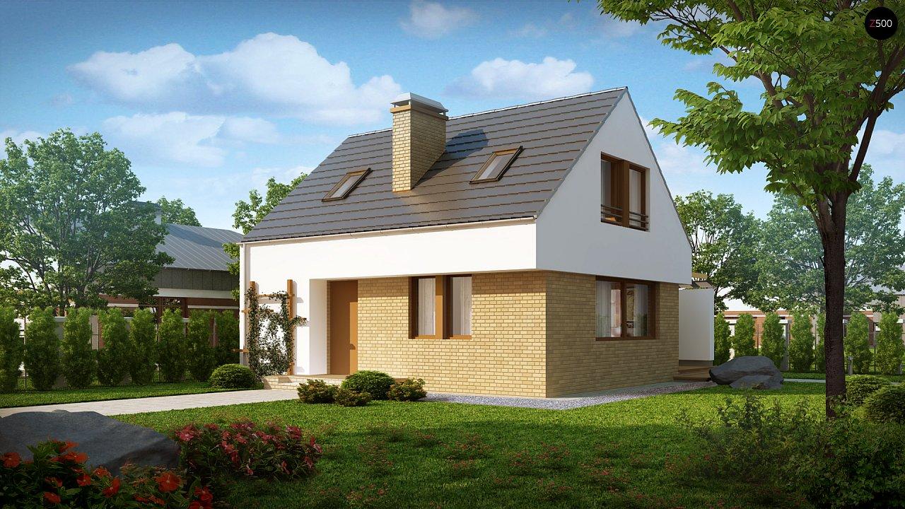 Проект будинку Z221 - 1
