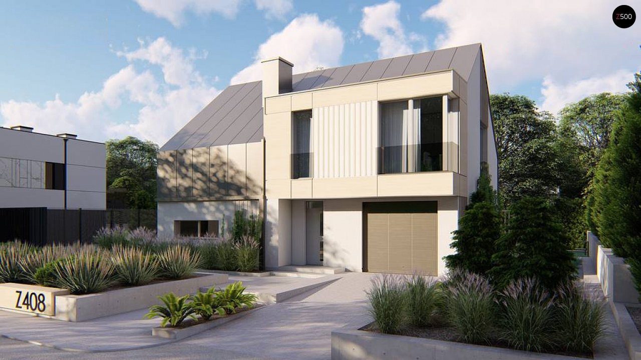 Проект будинку Z408 - 1